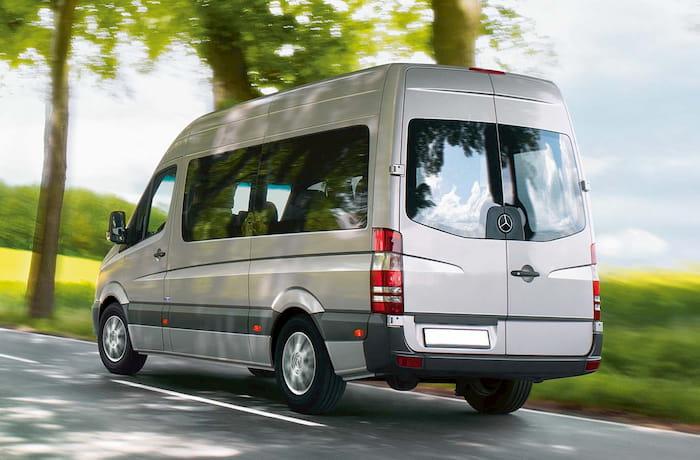 Доставка удобными микроавтобусами