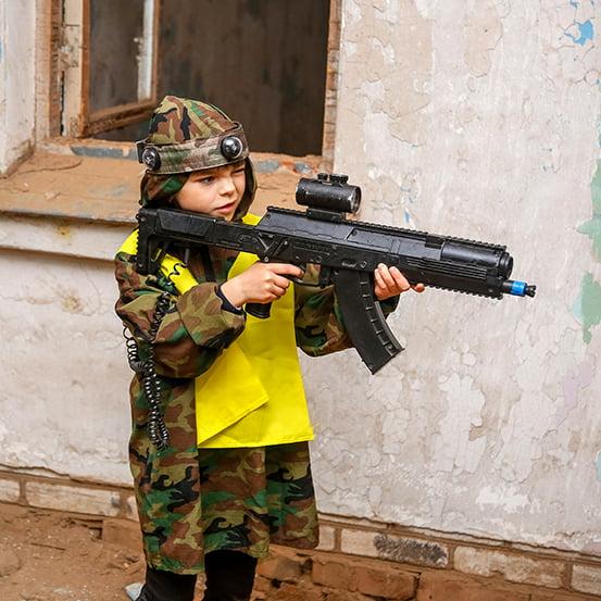 Лазертаг для детей в Минске
